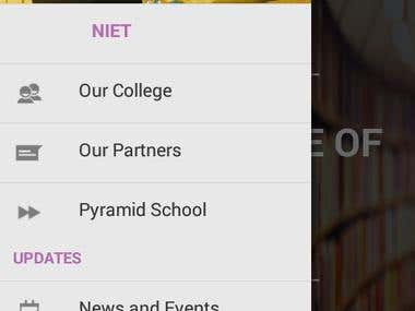 NIET Greater Noida Android app