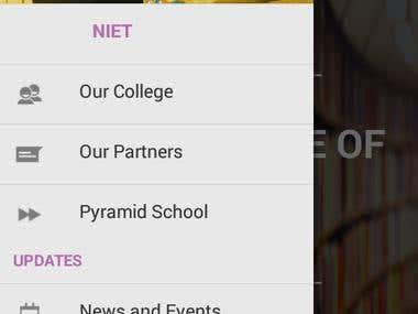 NIET Greater Noida Android app