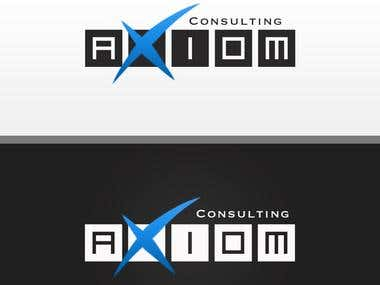 axiom logo design