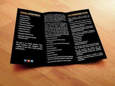Brochure and Flyers Design