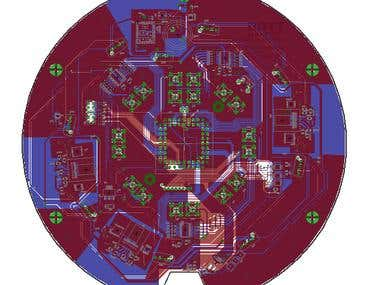 Signal processing board and user interface board