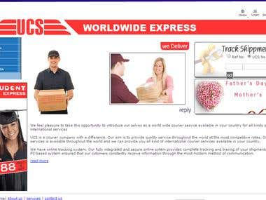 Online Courier System