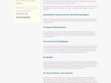FebrezAC Repaid Website Design & Development