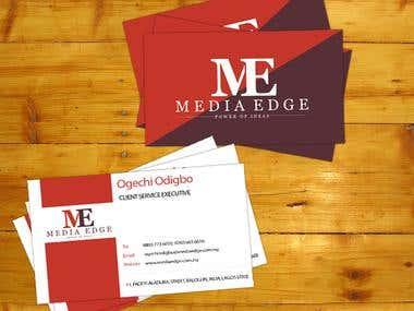 Business Cards Folder