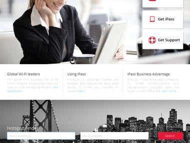 iPass Website Responsive - WordPress