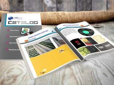 Catalogs, Brochures, Menus