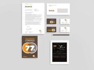 Gym & Health Care Branding ACADEMIA 77