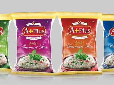 ASOP Basmati Rice pack