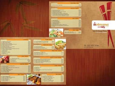 AttariBros Menu Design