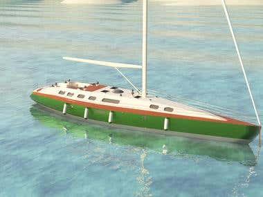 Simple Yacht viz