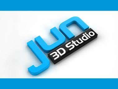 Jun3d Studio Logo
