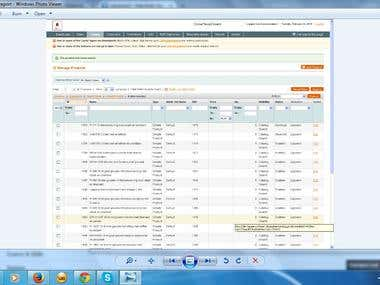 Joomla to Megento upload report