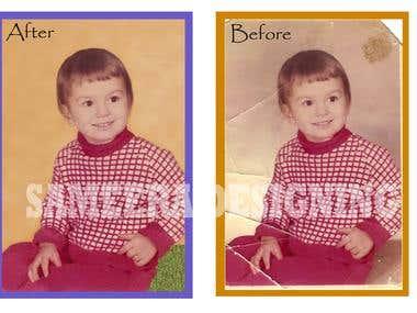 Damage Photo editing