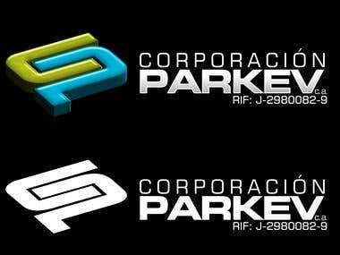 Diseño Logo Parkev
