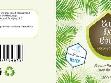Eau De Coco Branding