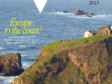 On the coast magazine cover
