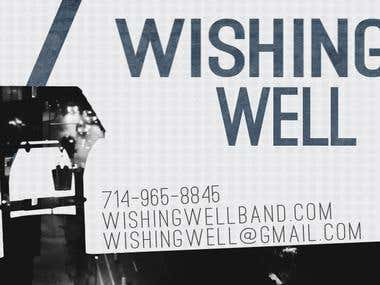 Wishing Well Band Business Card