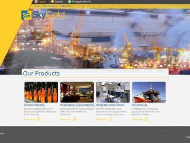 Wordpress Website for an Oil Company