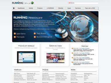 Wordpress Running Website