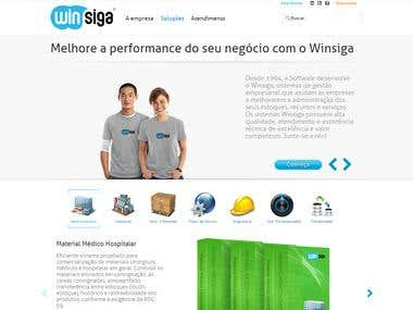 Wordpress Winsiga Website