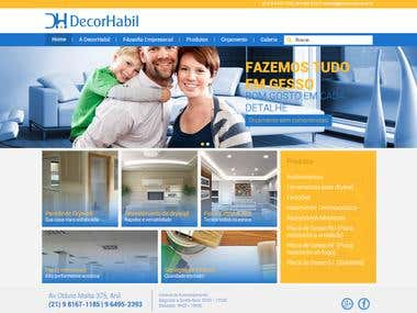 Wordpress DecorHabil Website