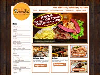 Wordpress Fornolleto Restaurant Website