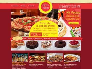 Wordpress Azzodasti Restaurant