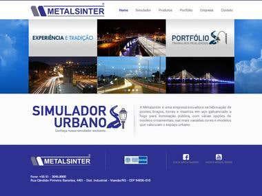 Wordpress Metalsinter Werbsite
