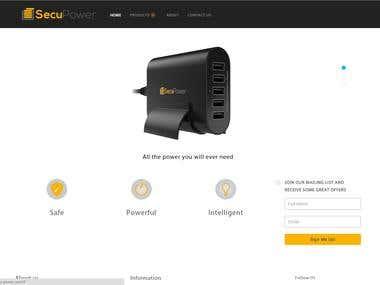 SecuPower website