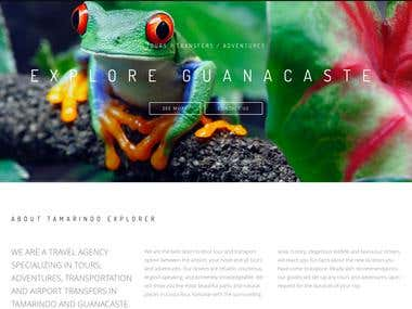 Tamarindo Explorer Website
