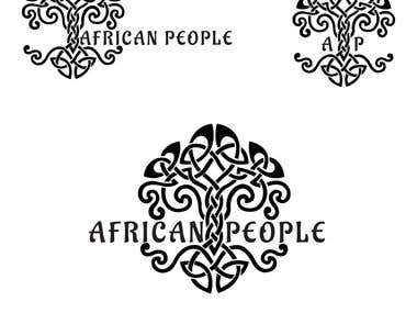 logo for africanpeople.com