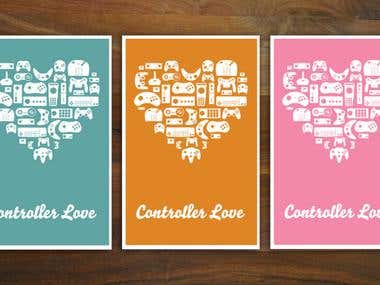 Posters: Controller Love