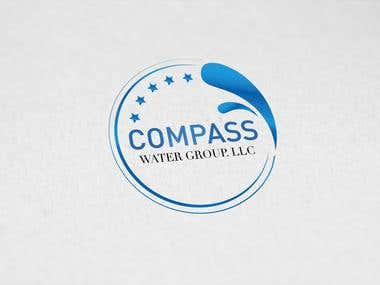 LOGO FOR COMPASS WATER GROUP. LLC