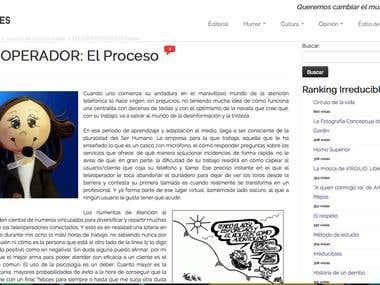 Redactora en la revista online Irreducibles.net