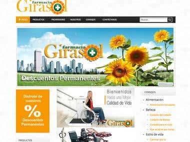 Farmacia Girasol Website