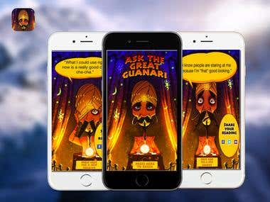 The Great Guanari Mind Reader App