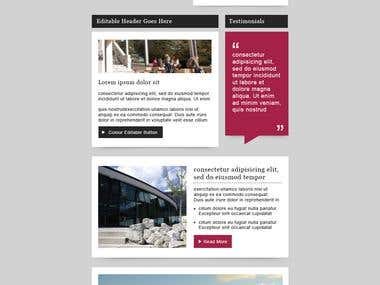 Falmouth University Email Design