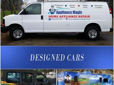 Designed Cars