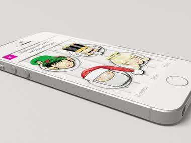 3D visualisation for website/webdesign
