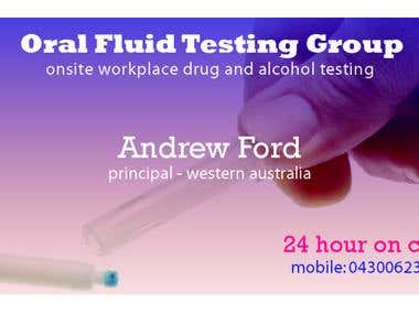 Andrew Ford Business Card