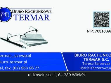 example buisnesscard