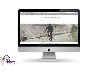 Website setup: DaperisBrothers.com