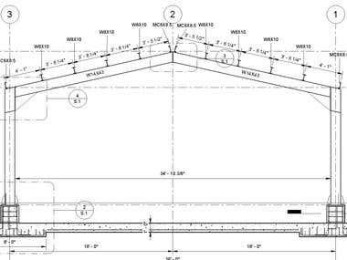 Revit Structure model