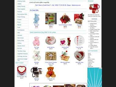 Online Gifts and Shopping Store - Lakwimana.com