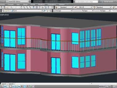 Isometric View - realistic design