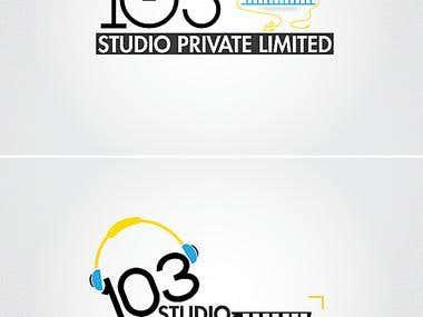103 Studio Private Limited logo Design