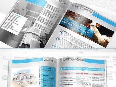 Mimoza Brochure Design