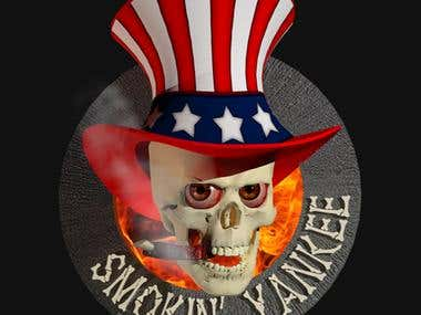 LOGO - Smokin Yankee Logo