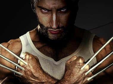 PHOTOSHOP - Wolverine