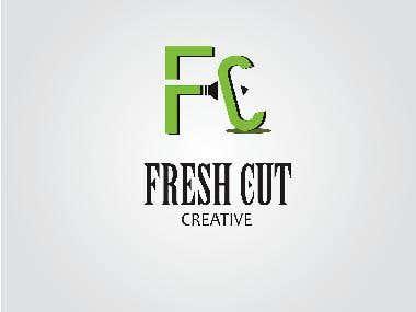 FRESH CUT CREATIVE LOGO MOCKUPS